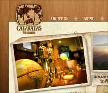 Cataratas website