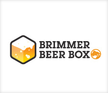 Brimmer Beer Box Logo Design